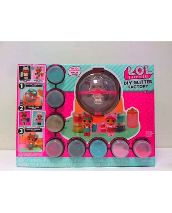 mga entertainment LOL Surprise DIY Błyszcząca fabryka dla lalek LOL 556299