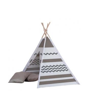 john gmbh Namiot drewniany Tipi beżowe wzory John