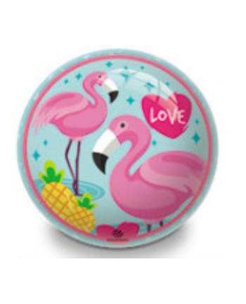 Piłka 140mm Flamingi Mondo
