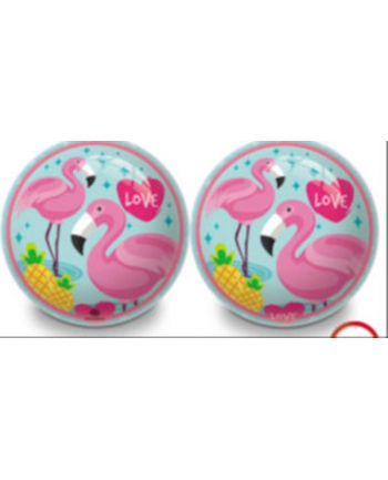 Piłka 230mm Flamingi Mondo