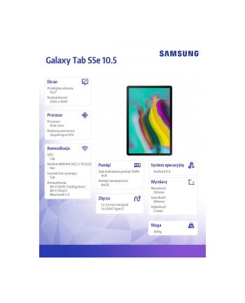samsung Tablet Galaxy TAB S5e 10.5 T720 WiFi 64GB Srebrny