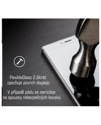 3mk Szkło hybrydowe FlexibleGlass Samsung A405 A40