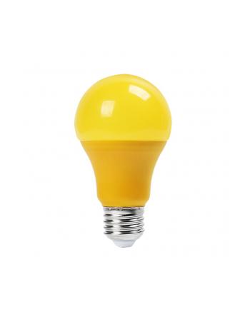Żarówka LED VT-2000Y 9W A60 E27 żółta 570LM
