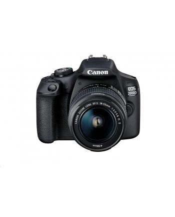 Cyfrowa lustrzanka Canon EOS 2000D BK 18-55 IS+50 1.8S EU26