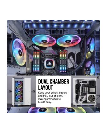 Corsair obudowa komputerowa Crystal Series™ 680X RGB Low Noise ATX, TG, biała