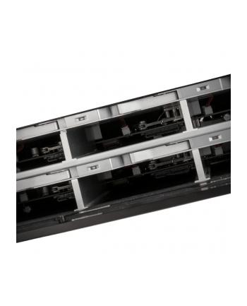 Silverstone Obudowa 2U Rackmount SST-RS831S - 8 Bay 3.5'' SAS/SATA, czarna