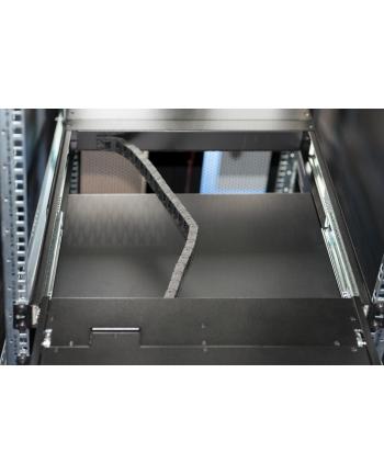 Konsola 19 LCD z touchpad KVM 8 portów 1U komplet kabli (8xDS-19231) klawiatura US