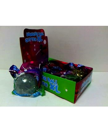 hipo Piłka do ściskania -brokat 10cm 6- kolorów
