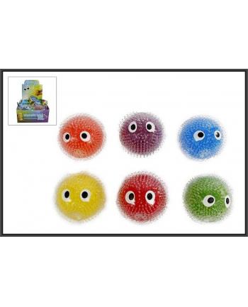 hipo Piłka do ściskania Buźka 10cm 6-kolorów