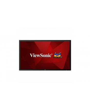 viewsonic Monitor CDE7500 LED 75 cali/4K/HDMI/VGA/DVI Digital Signage