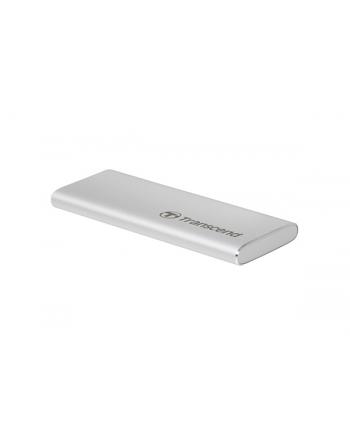 Transcend 480GB, external SSD, ESD240C, USB 3.1 Gen 2, Type C, R/W 520/460 MB/s