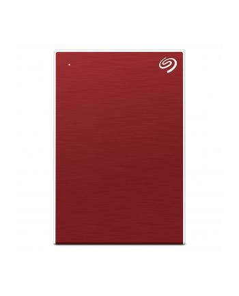 Dysk zewnętrzny Seagate Backup Plus Slim; 2,5'', 2TB, USB 3.0, czerwony