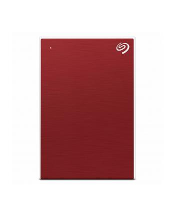 Dysk zewnętrzny Seagate Backup Plus Portable; 2,5'', 5TB, USB 3.0, czerwony