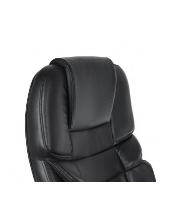 GreenBlue GB182 Fotel biurowy ergonomiczny Luxury obicie ekoskóra, stopa chromow