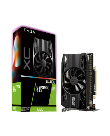 EVGA GeForce GTX 1660 XC Black, 6GB GDDR5, HDB FAN, DP, HDMI, DVI