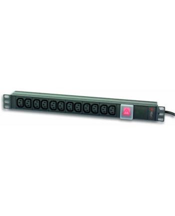 techly pro TechlyPro Listwa zasilająca rack 19'' 1U 250V/16A 8x Schuko 3m włącznik