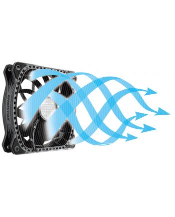 Enermax trójpak wentylatorów SQUAR.G.B. RGB 12 cm x 12 cm x 2,6 cm