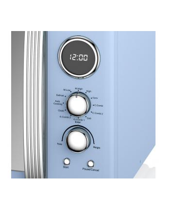 Kuchenka mikrofalowa Swan RETRO SM22080BLN (900W; 25l; kolor niebieski)