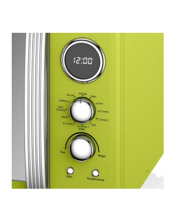 Kuchenka mikrofalowa Swan RETRO SM22080LN (900W; 25l; kolor limonkowy)