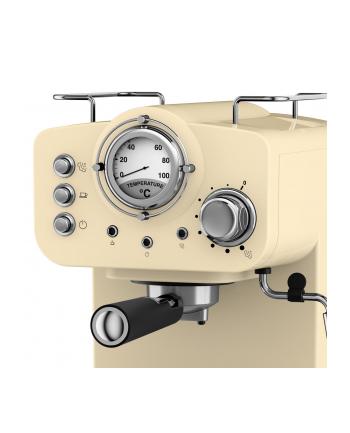 Ekspres ciśnieniowy Swan Espresso Coffee Machine SK22110CN (1100W; kolor kremowy)