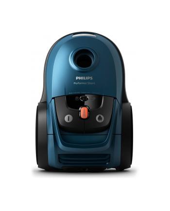 Odkurzacz workowy Philips Performer Silent FC8783/09 (650W; kolor niebieski)