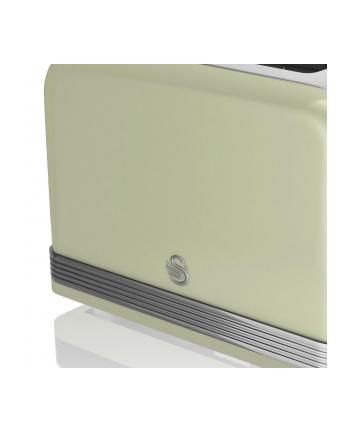 Toster Swan RETRO ST19010GN (810 W; kolor zielony)