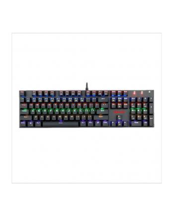 Klawiatura REDRAGON RUDRA RAINBOW K565R-1 (mechaniczna; USB 2.0; kolor czarny)