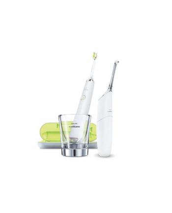 Zestaw szczoteczka + irygator do zębów Philips HX8491/01 (elektryczna; kolor biały)