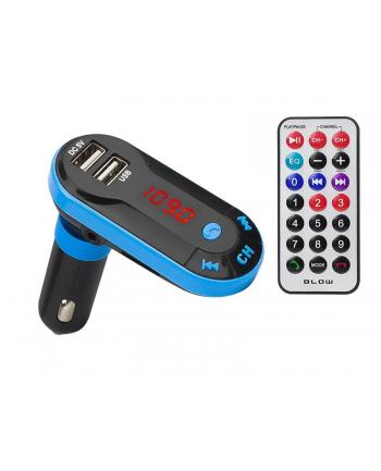 Transmiter FM FM do gniazda samochodowej zapalniczki BLOW 74-148# (USB)