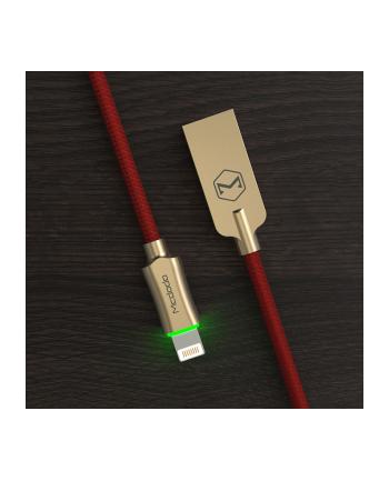 Kabel Mcdodo KNIGHT CA-3906 (USB - Lightning ; 1 2m; kolor czerwony)