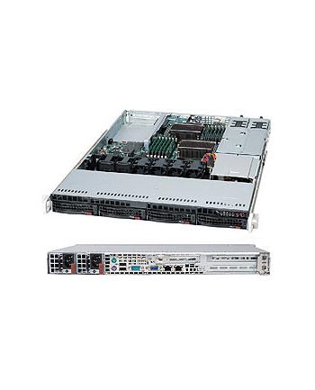Obudowa serwerowa Rack Supermicro CSE-815TQC-R504WB2 (kolor czarny)