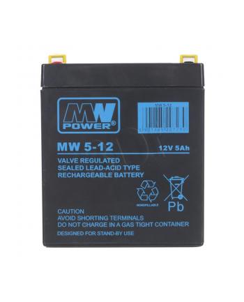 mpl power elektro Akumulator MW Power MW 5-12 (12V 5000mAh)