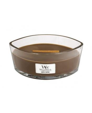 Świeca w szkle WoodWick Elipsa Amber & Incense 76041E (90mm x 120mm)