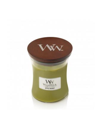 Świeca w szkle WoodWick średnia Apple Basket 92056E (114mm x 98mm)