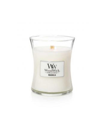 Świeca w szkle WoodWick średnia Magnolia 92190E (114mm x 98mm)