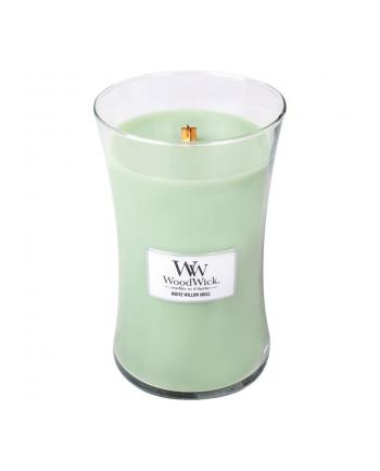 Zapach w szkle WoodWick duża White Willow Moss 93051E (180mm x 110mm)