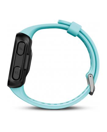 Zegarek sportowy Garmin Forerunner 30 WHRM 010-01930-04 (kolor turkusowy)