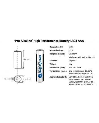 Baterie alkaliczne everActive LR0310PAK (x 10)