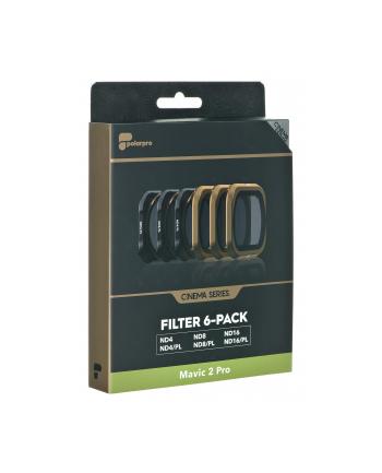 Zestaw filtrów PolarPro do drona polarpro Cinema Series M2P-CS-6PK (do DJI Mavic 2 Pro; 6 szt)
