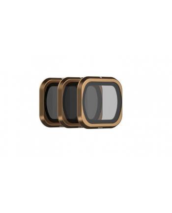 Zestaw filtrów polarpro Cinema Series M2P-CS-SHUTTER (do DJI Mavic 2 Pro; 3 szt)