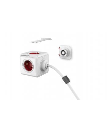 Przedłużacz allocacoc PowerCube Extended 2300RD/FREXPC (1 5m; kolor czerwony)