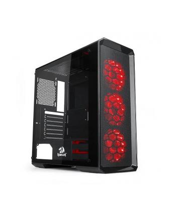 Obudowa REDRAGON RGB GC-602 (ATX  Micro ATX  Mini ITX; kolor czarny)