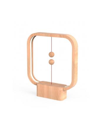 Lampa stołowa allocacoc Heng Balance Lamp Square USB DH0038LW/HBLSUB (1 5m; Biały ciepły)