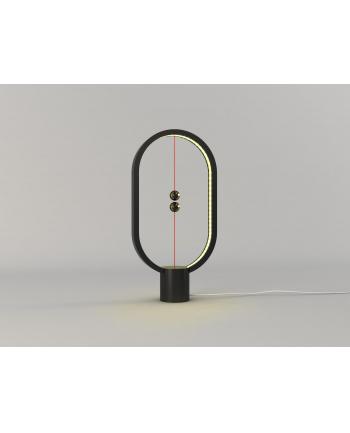 Lampa stołowa allocacoc Heng Balance Lamp Ellipse Plastic USB DH0040BK/HBLEUB (1 5m; Biały ciepły)