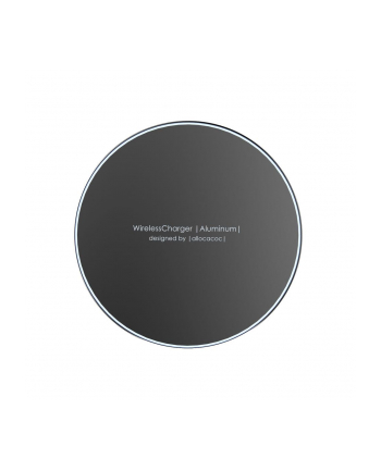 Ładowarka indukcyjna allocacoc WirelessCharger Aluminium 11023BK/WLCGAL (kolor czarny)