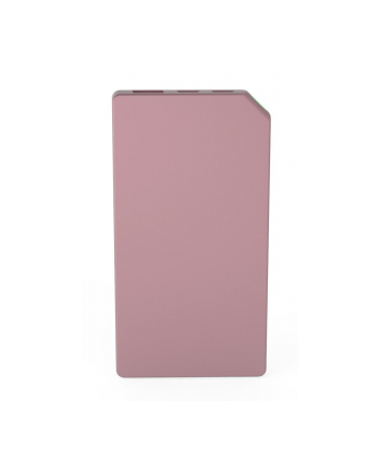 Power Bank allocacoc Slim Aluminium 10528PK/PWBK50 (5000mAh; Lightning  microUSB; kolor różowy)