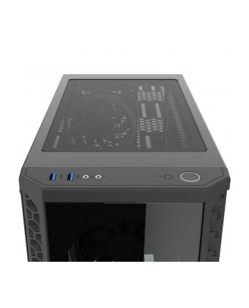 Obudowa SilentiumPC Signum SG1X TG RGB SPC233 (ATX  Micro ATX  Mini ITX; kolor czarny)