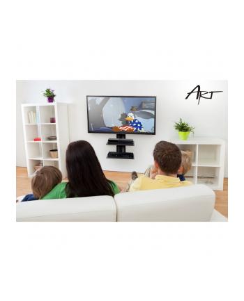 Półka ścienny pod DVD ART D-50N (kolor czarny)