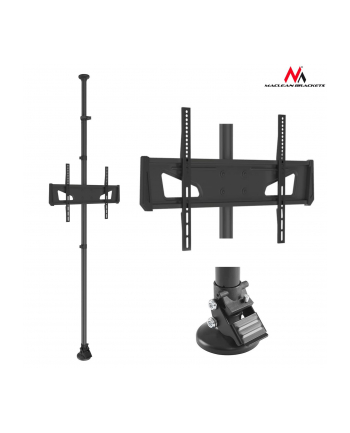 Uchwyt do telewizora Maclean MC-791 (podłogowy  sufitowy; 37  - 65 ; max 25kg)
