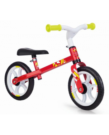Mój pierwszy rowerek biegowy czerwony SMOBY